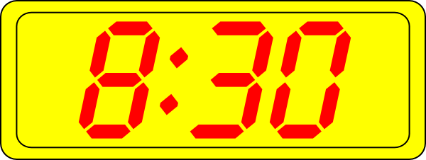 8 30 clock