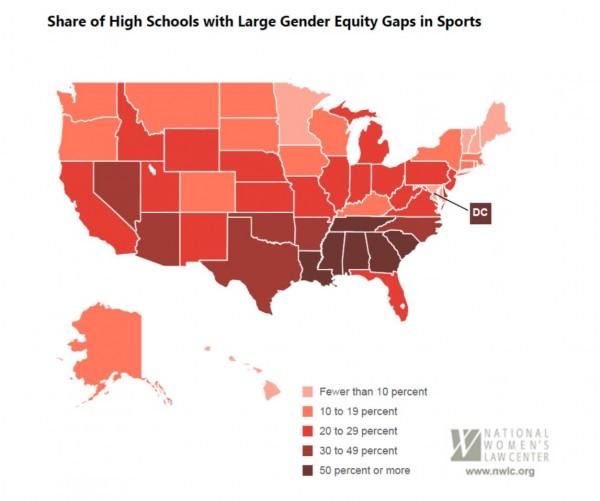 gender equity map