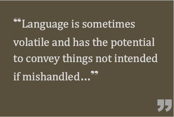 language quote