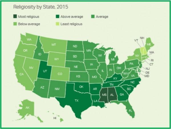 religion USA