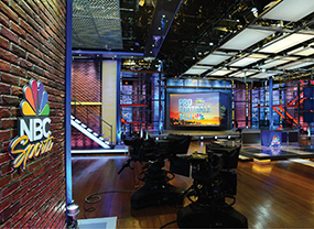 NBC sports studio