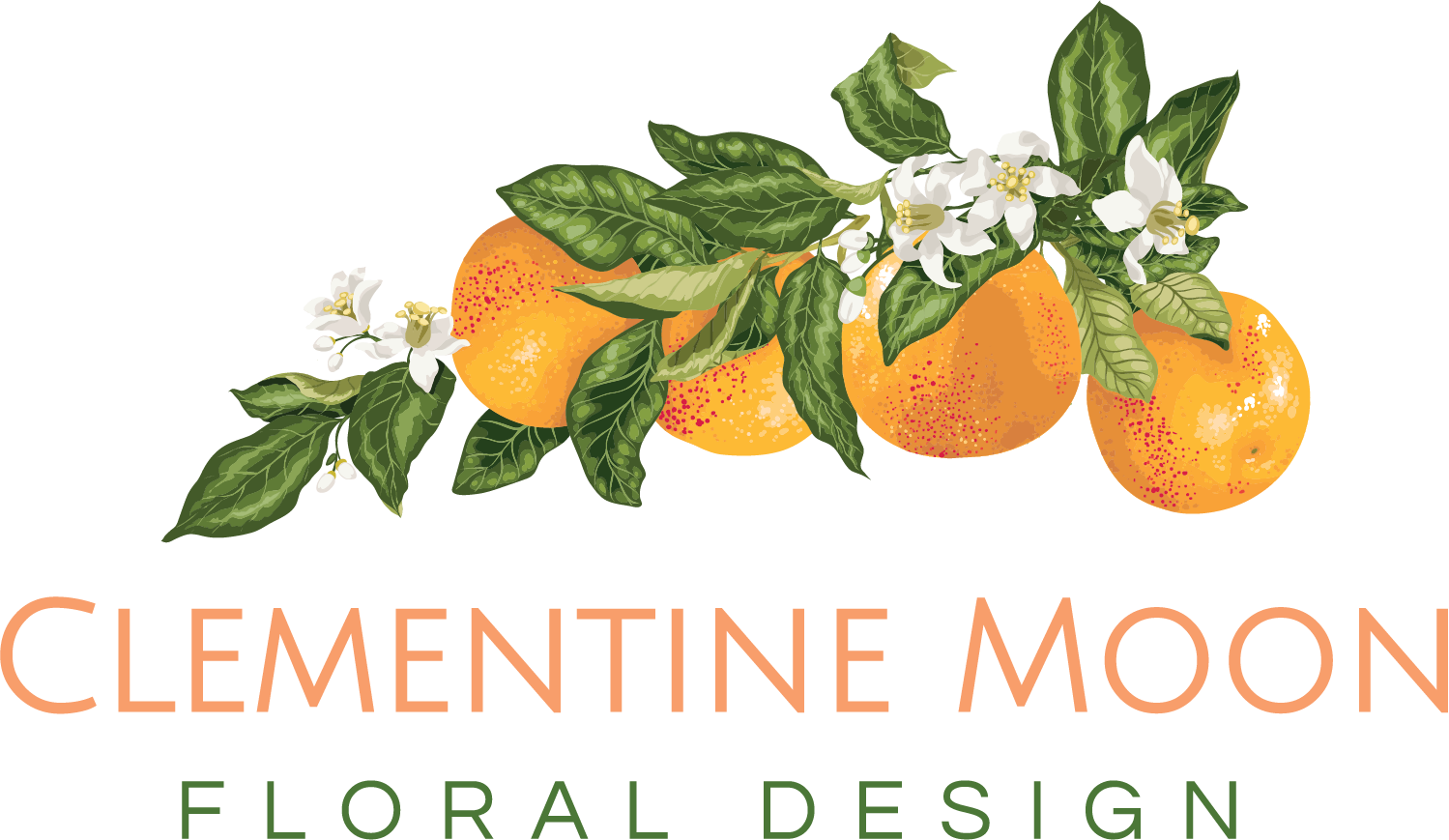 Clementine Moon floral design