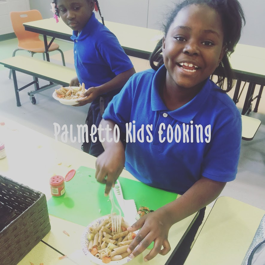 - We partner with awesome organizations such as Wings For Kids to get kiddos engaged in healthy habits.This photo was taken during Choice Time, the Wings For Kids after school program.Chicora Elementary, North Charleston, SC.This young lady is learning to use spices for flavor instead of salt.