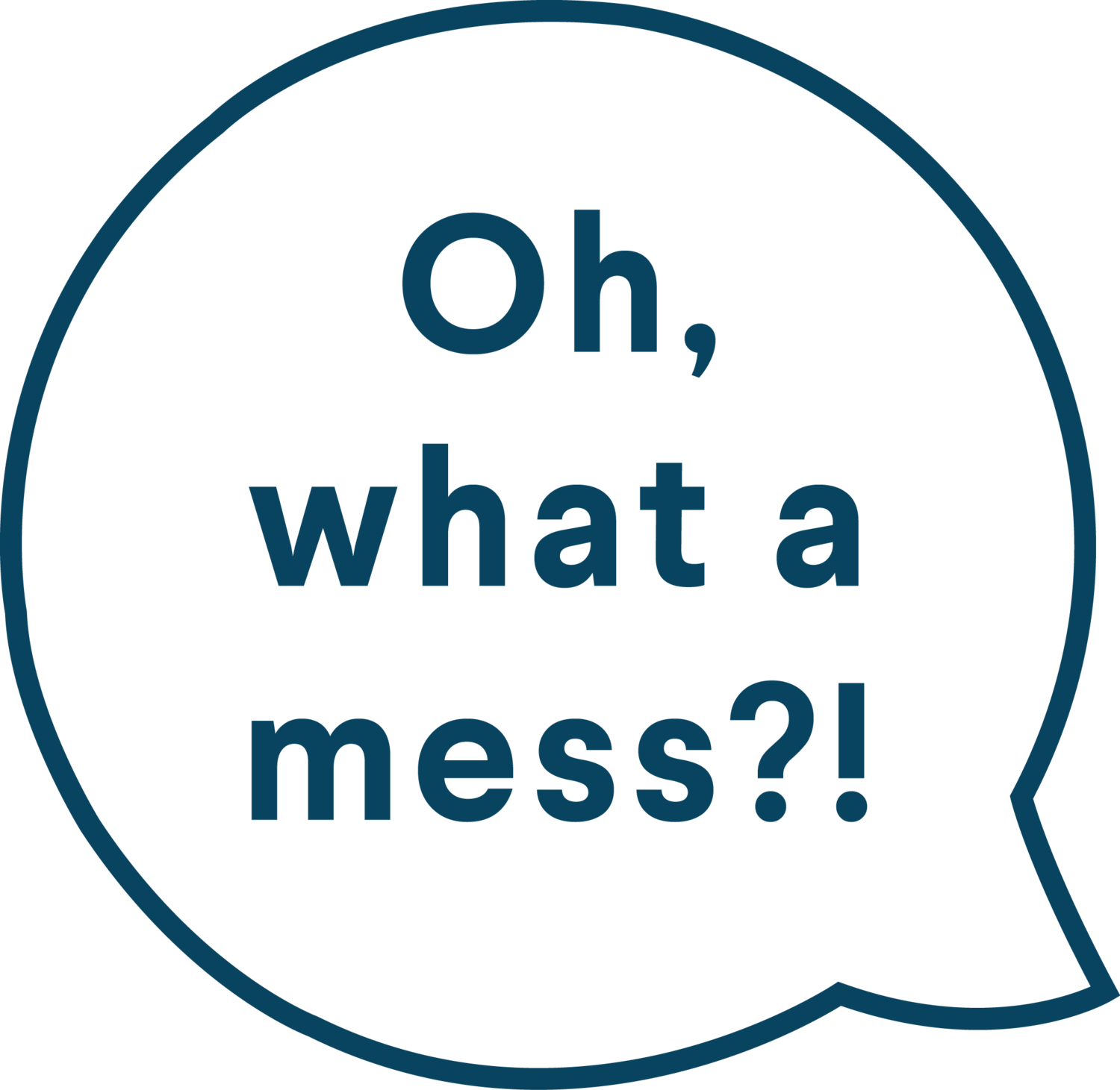 Oh, what a mess?!