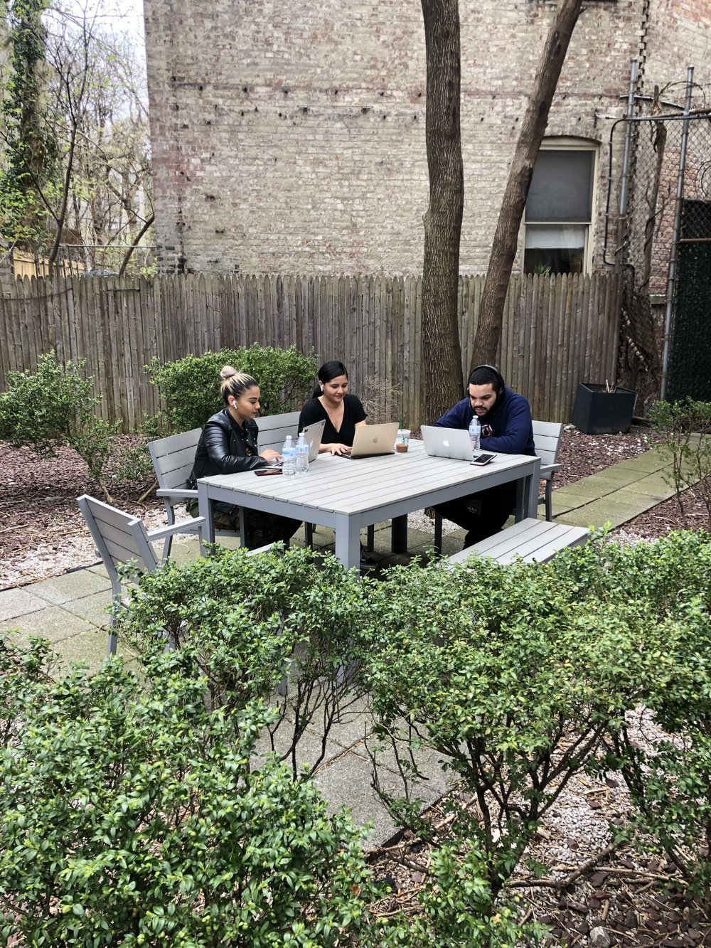 Work + Good Weather - As the weather continues to improve, enjoy our large garden and its wifi. Buy a Day Pass and come on by to be productive outdoors!