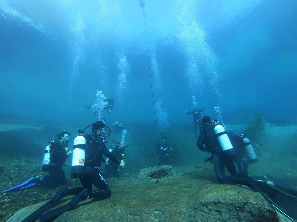 Training is a Breeze  -  With near perfect visibility and wide open space, this is the perfect location for new divers.  You'll make a memory you wont forget.
