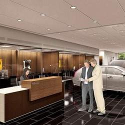 Cadillac proposed sales floor