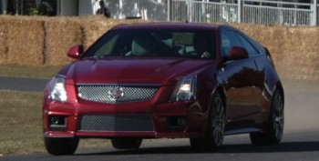 MotorTrend CTS-V Coupe at Goodwood