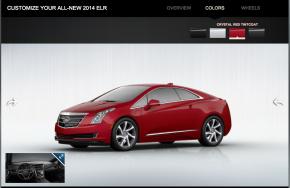 2014 Cadillac ELR configurator