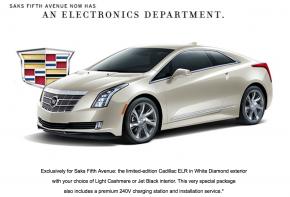 2014 Saks Cadillac ELR
