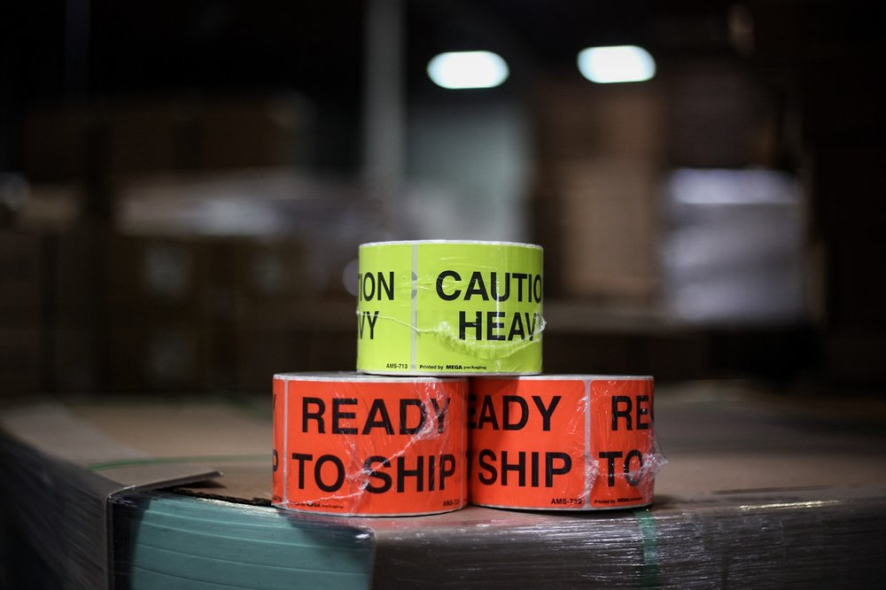 LABELS - Whether it is shipping labels, bar coding, warning labels hazardous products labels, or whatever else you need, we've got it covered. We also have the ability to print custom labels of all sizes from small address labels, up to large litho-labels. We can print or die cut on paper, vinyl, UL approved and many other types of labels.