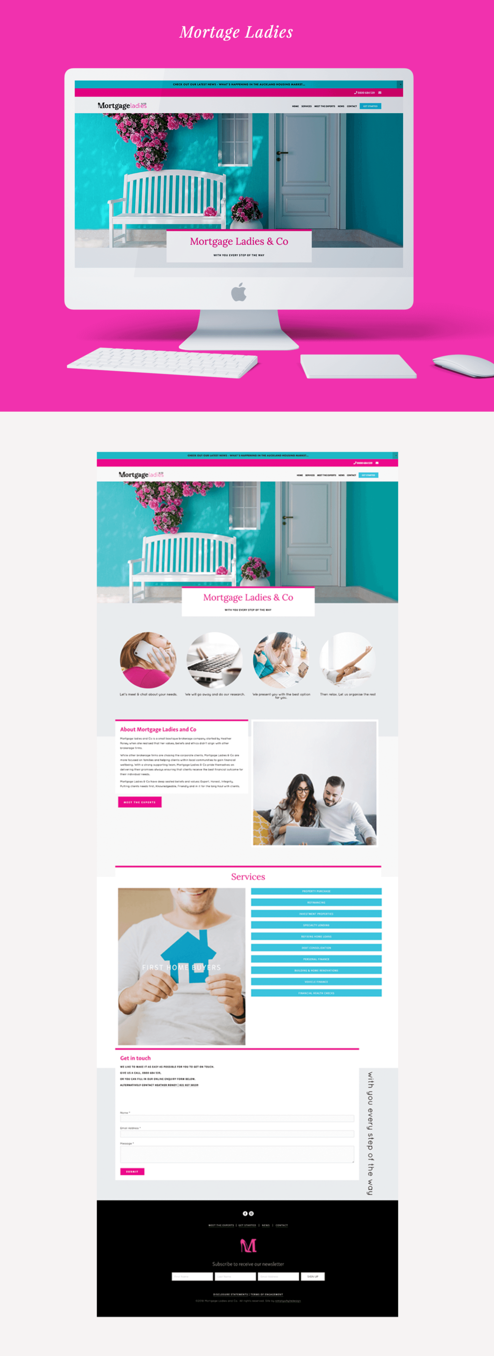 Mortgage ladies simply whyte design squarespace