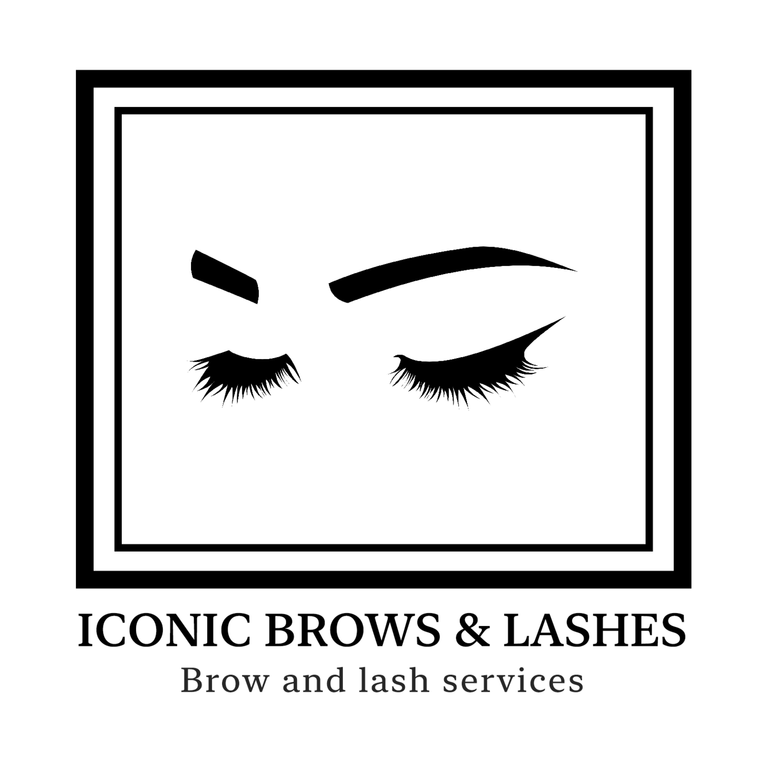 ICONIC BROWS & LASHES