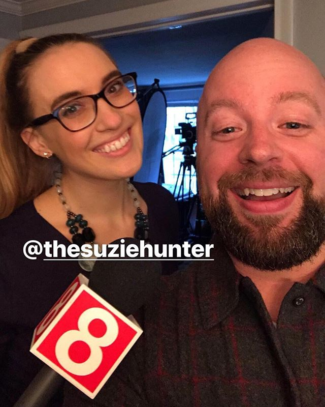 Thanks @thesuziehunter and Channel 8 for doing a story on my YouTube Channel! Can't wait to see it, and this might be the worst photo of me I've ever seen...