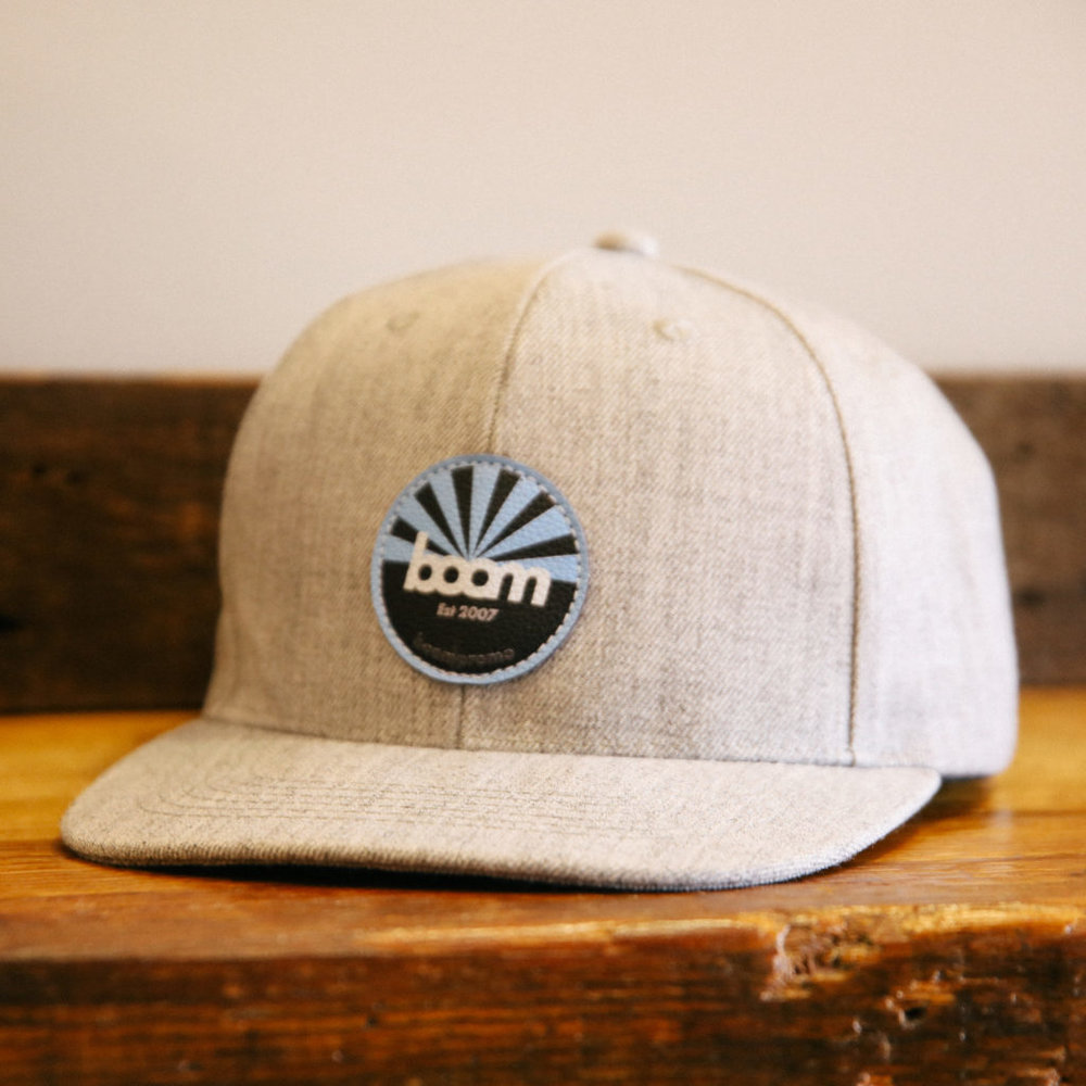 Full Color Leather Patch Cap
