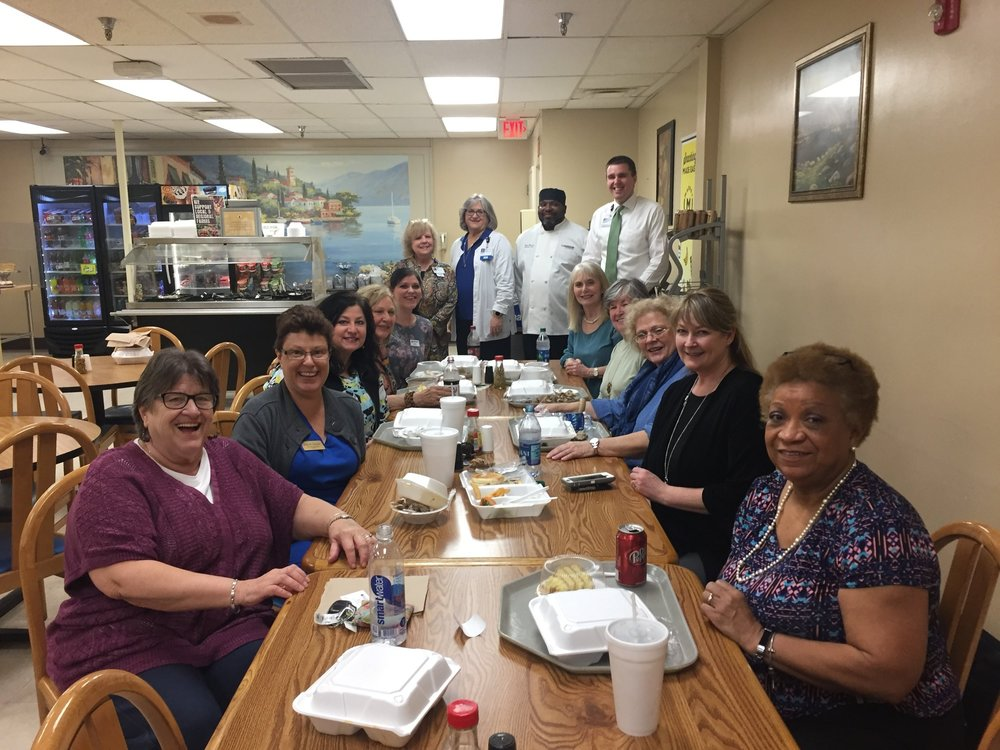 Second Thursday Lunch -