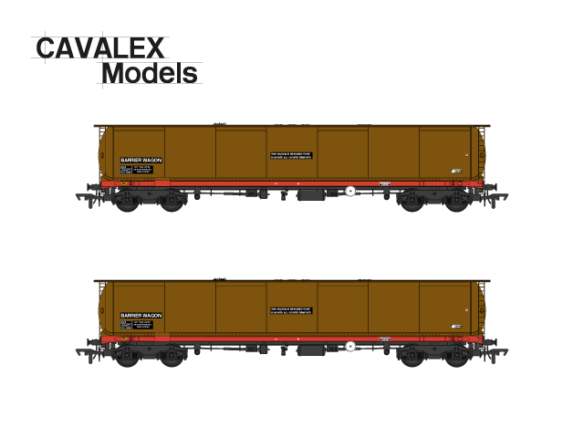 KBA barrier wagon:    Double pack as per the S Stock movements: £80 pre-order/£90 RRP