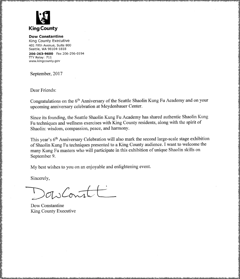 Congrats Letter from King County Executive  Dow Constantine.png