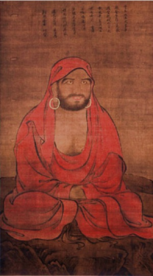 Picture of Bodhidharma at Himeji Castle