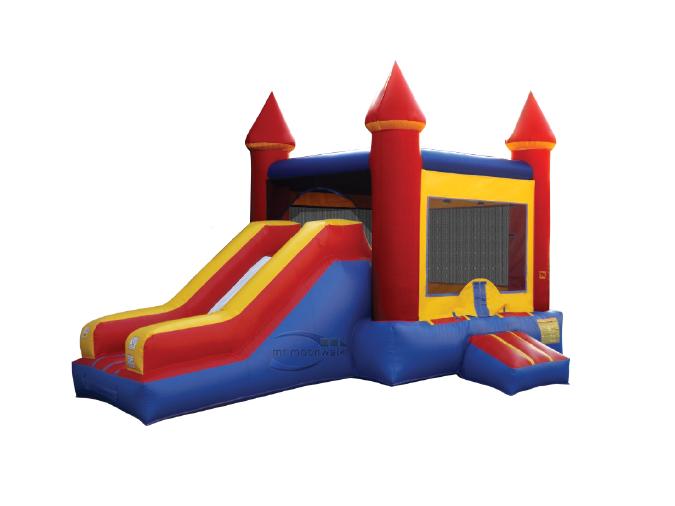 Castle/slide combo