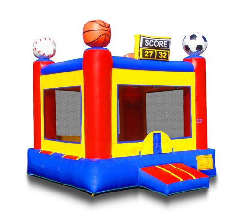 Sports Arena Bounce House - $165.00 ALL DAY RENTAL