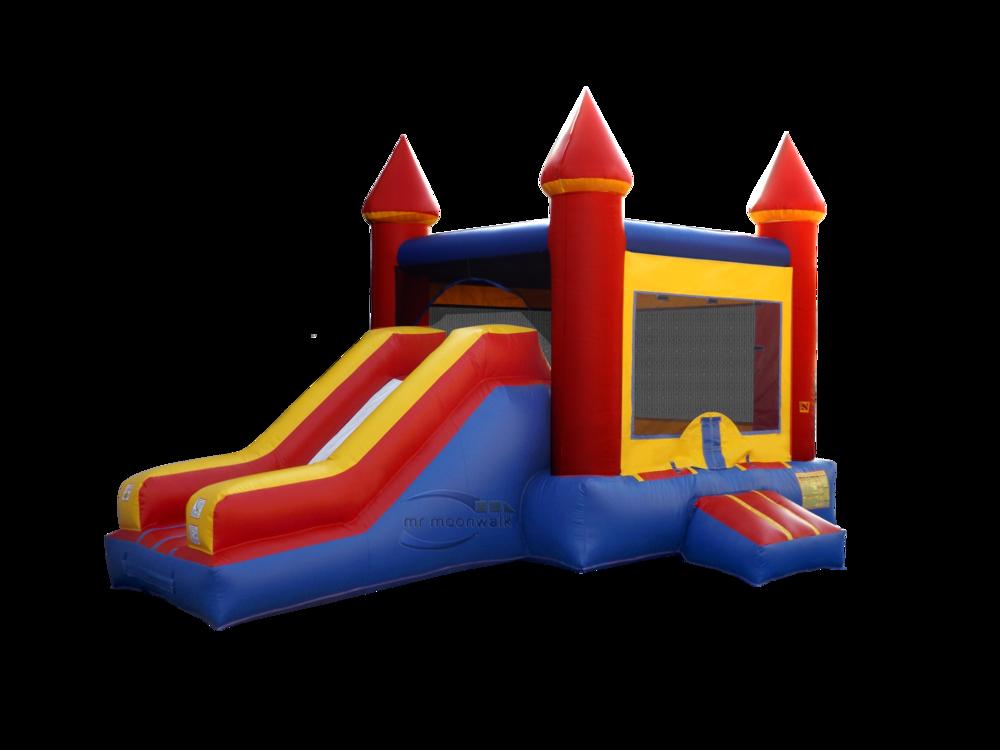 Castle Slide Combo - $195.00 ALL DAY RENTAL