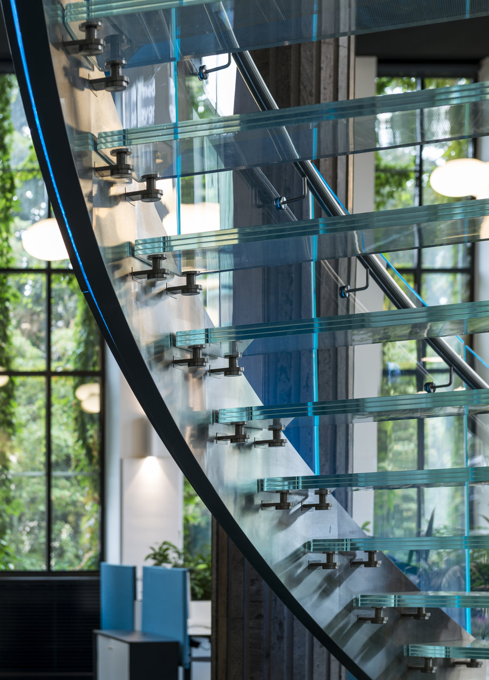 GLASS STAIRCASE - CATEGORY 3