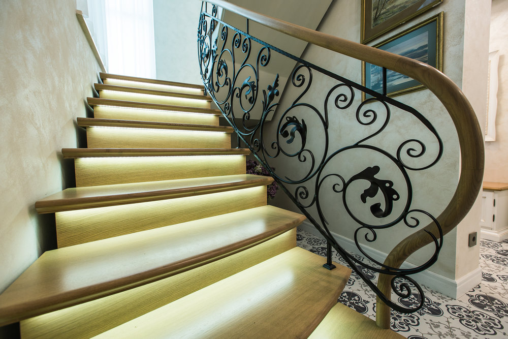PRIVATE RESIDENCE STAIRS - Located in Jurmala, Latvia