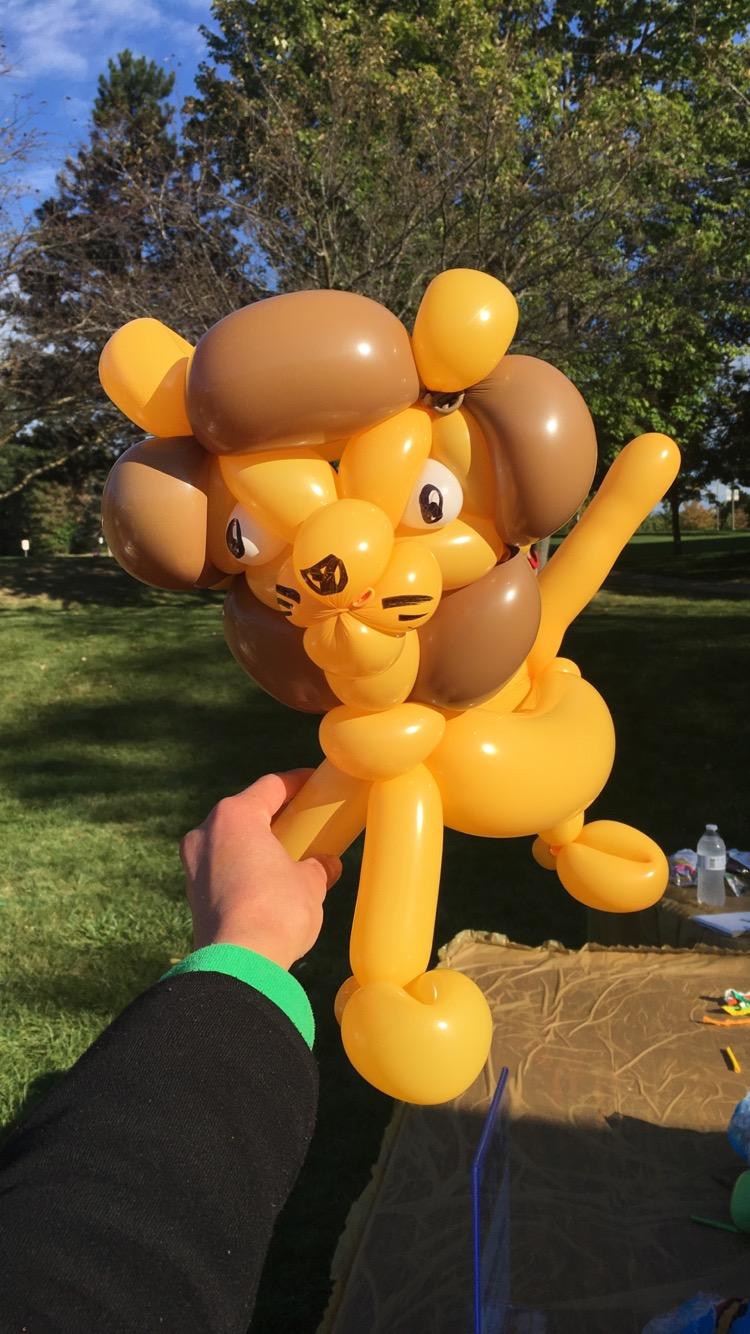 Balloon Twisting - Unique designs are fun for the whole family!