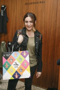 Courtney Smith at the Original Penguin AW Collection preview at Denzille Cinema 24 August