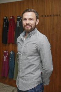 Boxer Andy Lee at the Original Penguin AW Collection preview at Denzille Cinema 24 August
