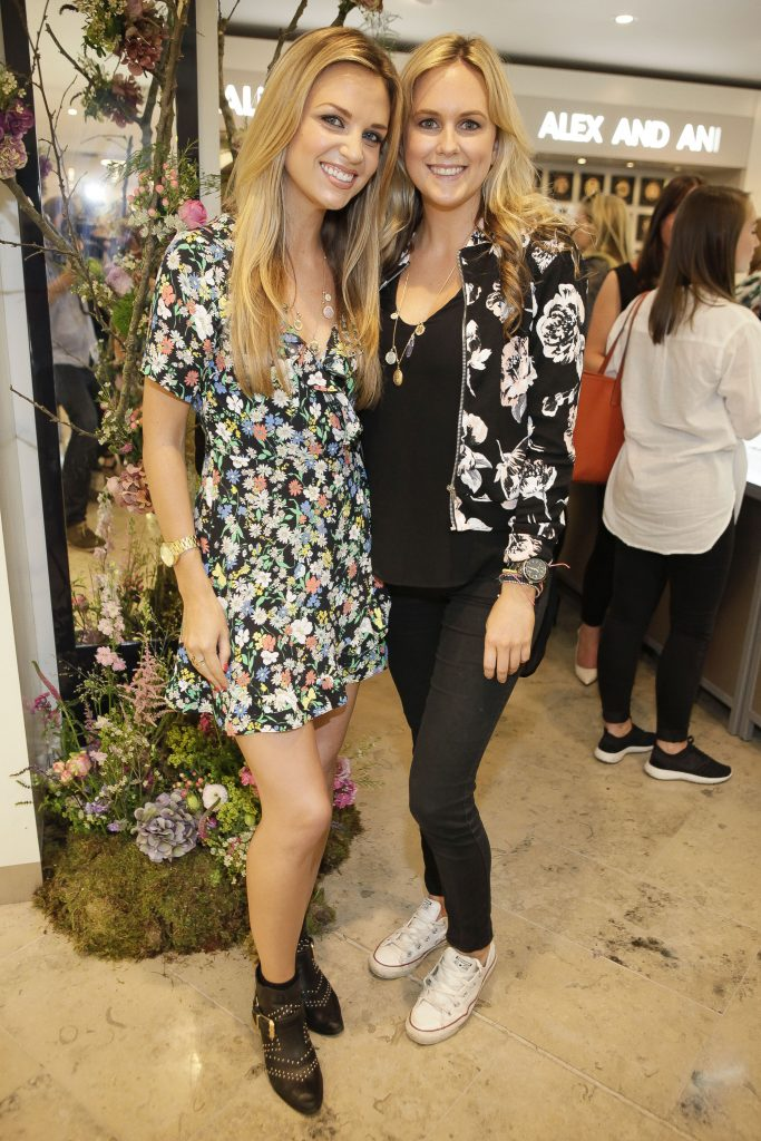 Alex and Ani's launch of their Chain Station range at Arnotts in