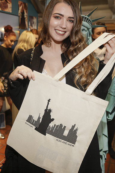 Ciara Walsh at the ALEX AND ANI launch of their Liberty Copper Collection in Kilkenny Shop,Dublin. Pic by Daragh Mc Donagh (no repro fee)
