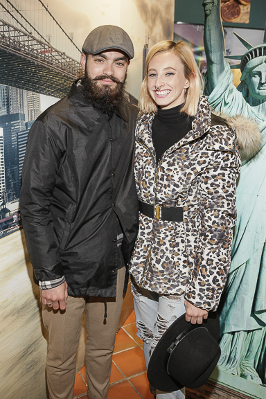 Jake Mc Cabe and Niamh O Donaghue at the ALEX AND ANI launch of their Liberty Copper Collection in Kilkenny Shop,Dublin. Pic by Daragh Mc Donagh (no repro fee)