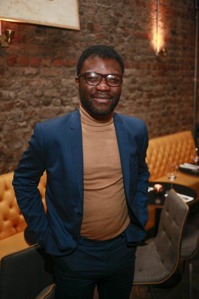 Timi Ogunyemi at launch night of Bagots Hutton Restaurant at 6 Upper Ormond Quay,Dublin
