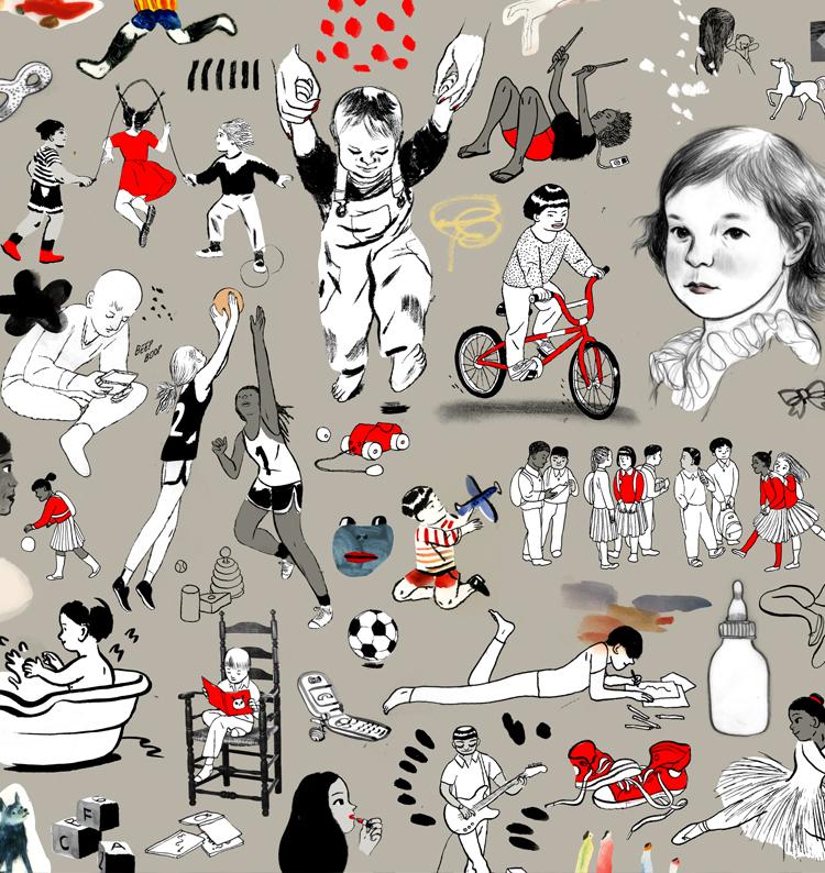 A cruelly-killed magazine cover illustration.