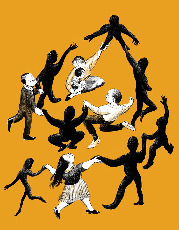 The Nib.  Dancing with Ancestors.