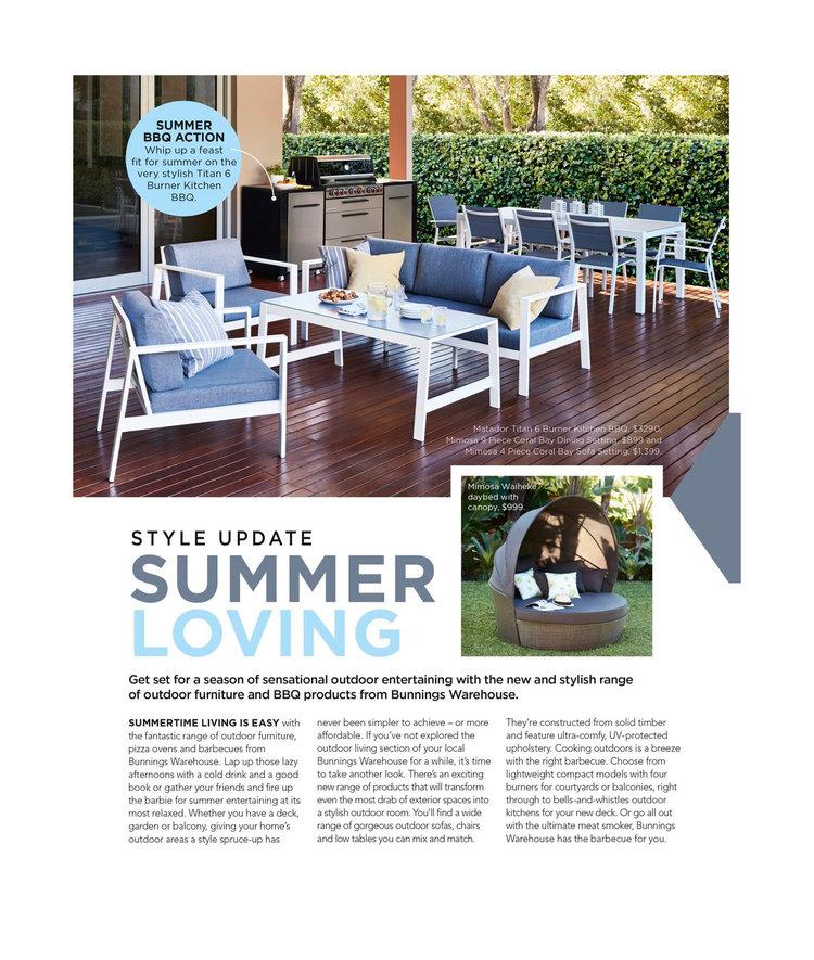 Bunnings - Style Update: Summer Loving
