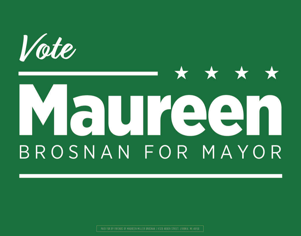 Maureen Brosnan for Mayor