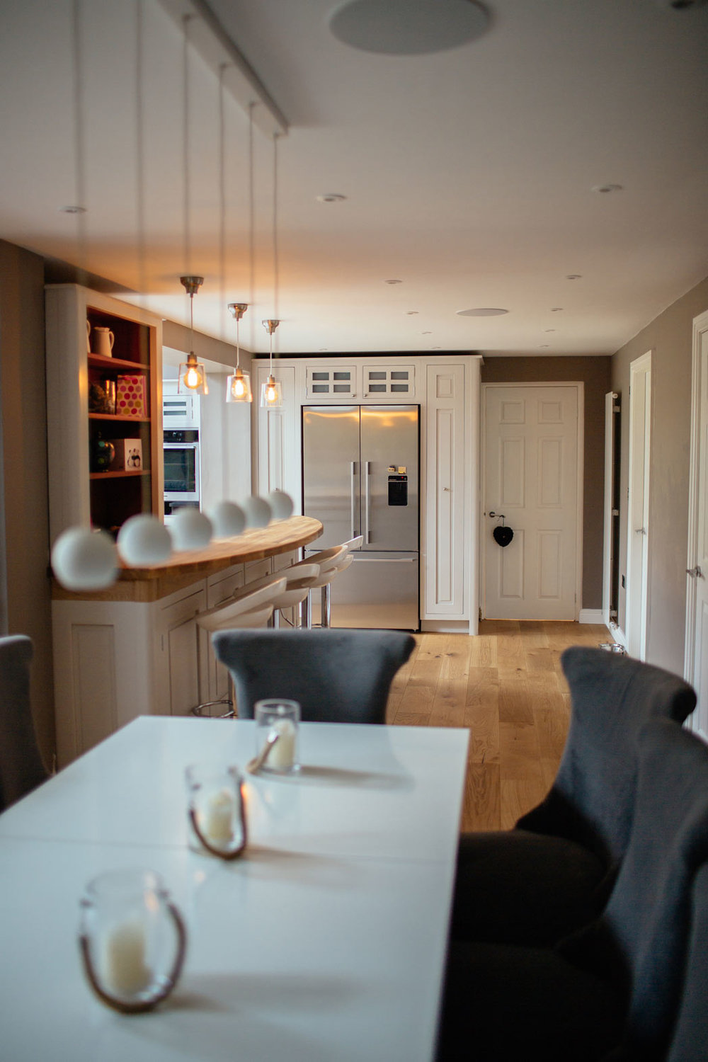 dining area of a permitted development project in leeds