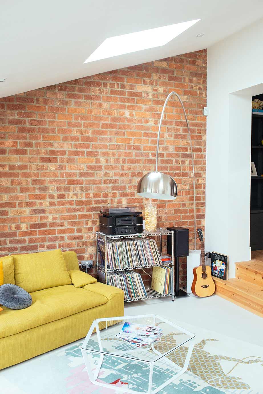 Guiseley exposed brick wall