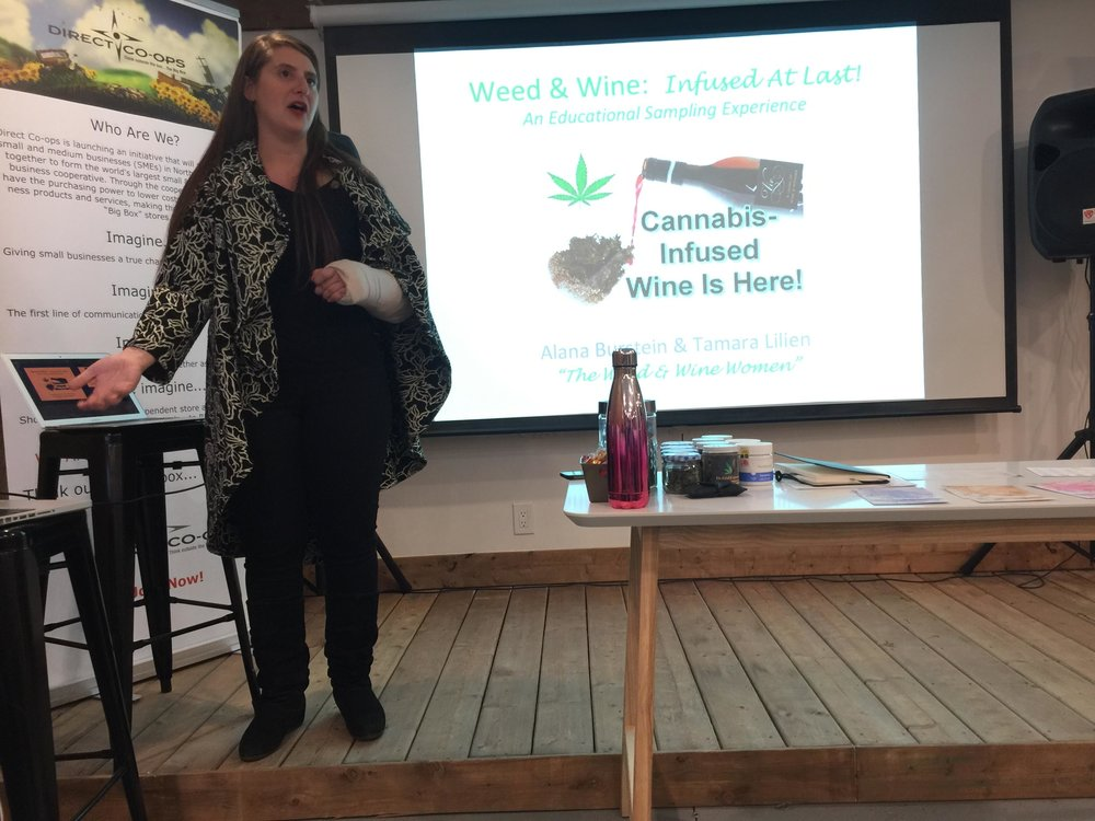 Weed Vs Wine: The New Preference, Education Session for The Cannabis Society