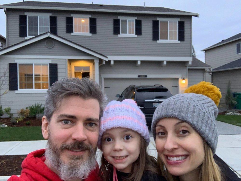Darin, Katherine and Morgan Persinger
