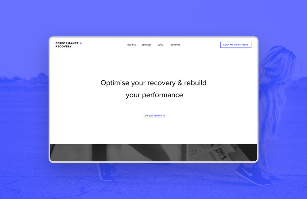 Performance + Recovery<strong>Bringing physiotherapy into the digital world</strong>