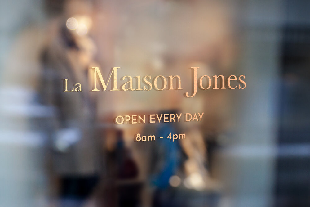 La Maison Jones<strong>An identity for Poole's newest patisserie</strong>