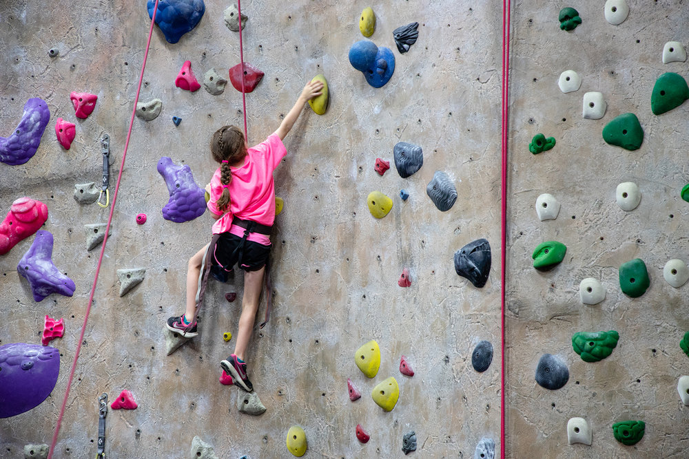 Climbing - This uncommonly fun sport builds strength and stamina while improving focus and goal-setting skills.