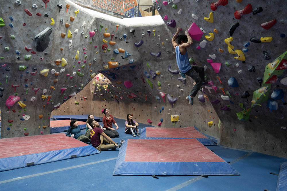 bring your friends - Climbing, like all good things, is better shared. You get a free guest pass every month to bring a friend. Get your friend hooked and you get a free month when they sign up for membership.