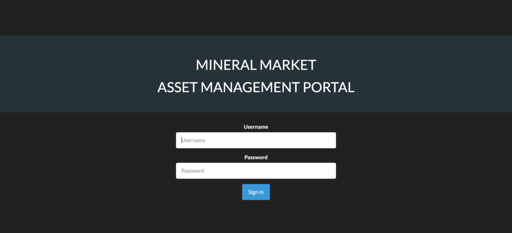 Admin portal - Lastly, we created a backend for the client to manage the data within the application.