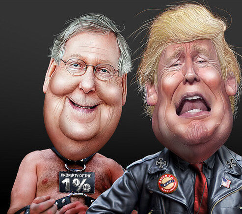Where Did Mitch Mcconnell Go For Christmas Vacation 2020 Impeached Donald Trump Is Still President, Moscow Mitch McConnell