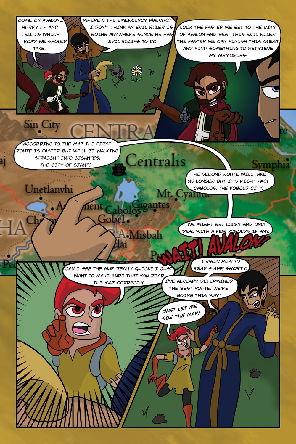 Curse Quest Chapter 2 Page 2